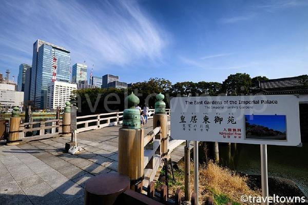 皇居東御苑への入口