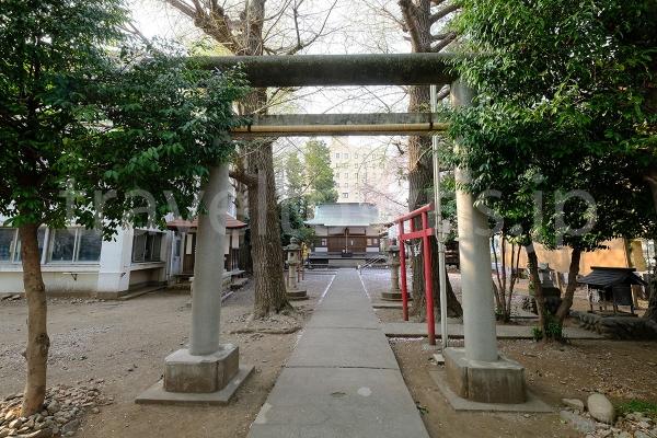 五ノ神社の鳥居