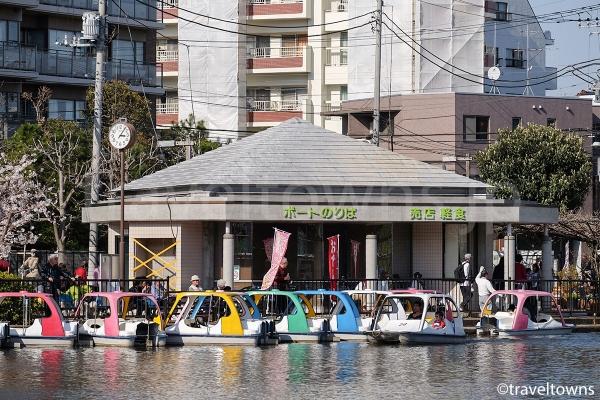 石神井公園のボートのりば