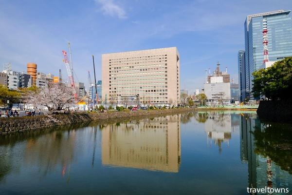 平川橋からの眺め
