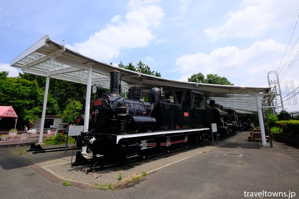 1905(明治38)年製造の2120形蒸気機関車(2221)