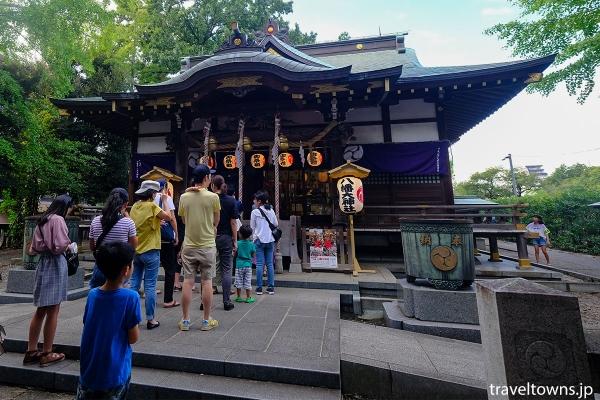 三鷹八幡大神社の社殿
