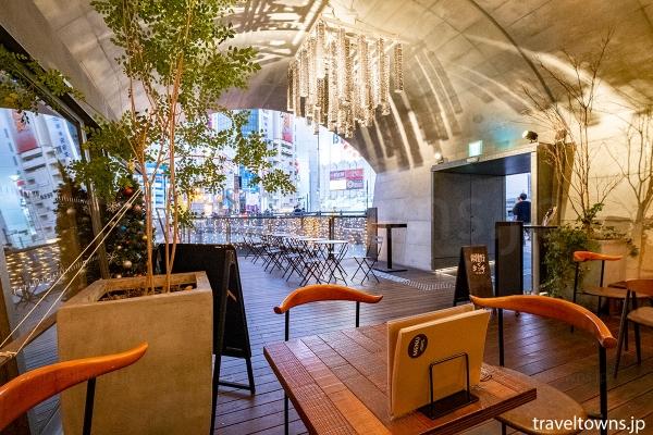 神田川の眺めが楽しめる飲食店も人気