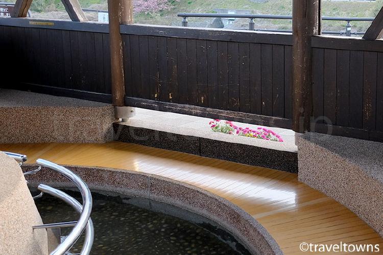 さくらの足湯処