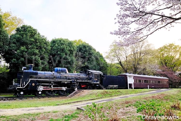 小金井公園 SL展示場(C57-186)