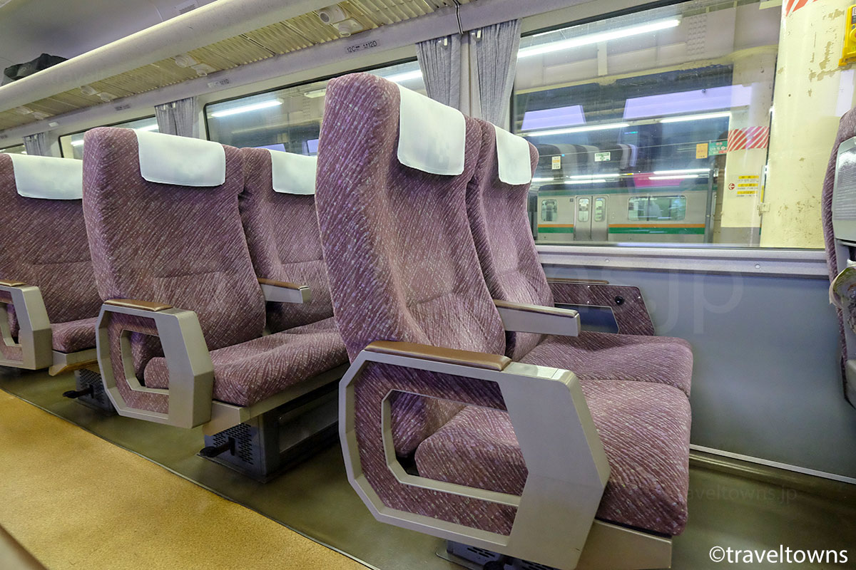 特急草津 651系1000番台 の普通座席