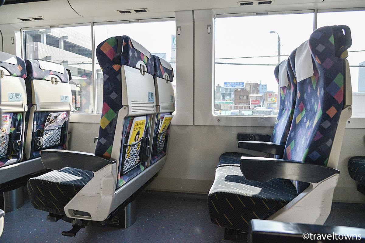 特急かいじ(E257系0番台)の普通座席